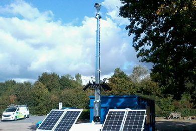 SOLAR MOBILE TOWER